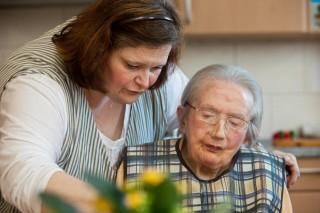 Individuelle Pflege im Haus Maria. (Foto: SMMP/Pohl)