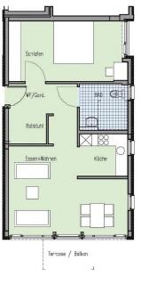 Wohnungsgrundriss 2
